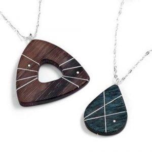 Elizabeth Kline Designs - Wood Necklaces