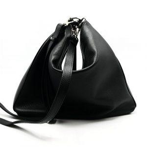 Selleria Veneta - Black Leater Treviso Bag