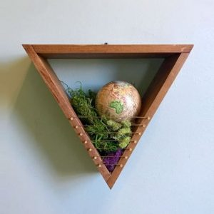 Arboreal Goods - Wooden Triangle Box