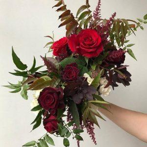 Cornell Florist - Red Bouquet