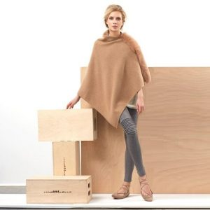 Figaro - Brown Poncho