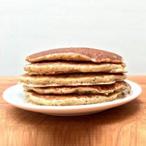 Long Table Pancakes - stack of pancakes