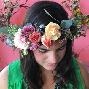 LeeLee's Garden - Flower Crown Class at Chicago Artisan Market