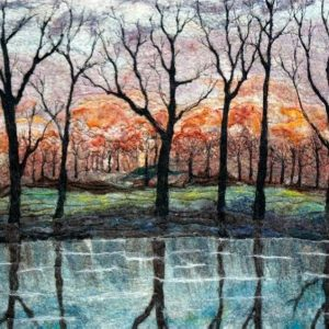 Anna Winette - Tree Reflection in Water