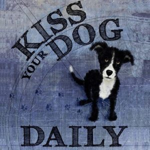 "Lucky Skye Graphics at Chicago Artisan Market - ""Kiss Your Dog Daily"""