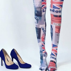 Malka Chic at Chicago Artisan Market (London tights)