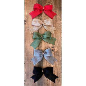 DIY Wooden Door Sign - Ribbon Colors - at Chicago Artisan Market