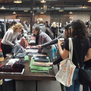 Shoppers at Chicago Artisn Market