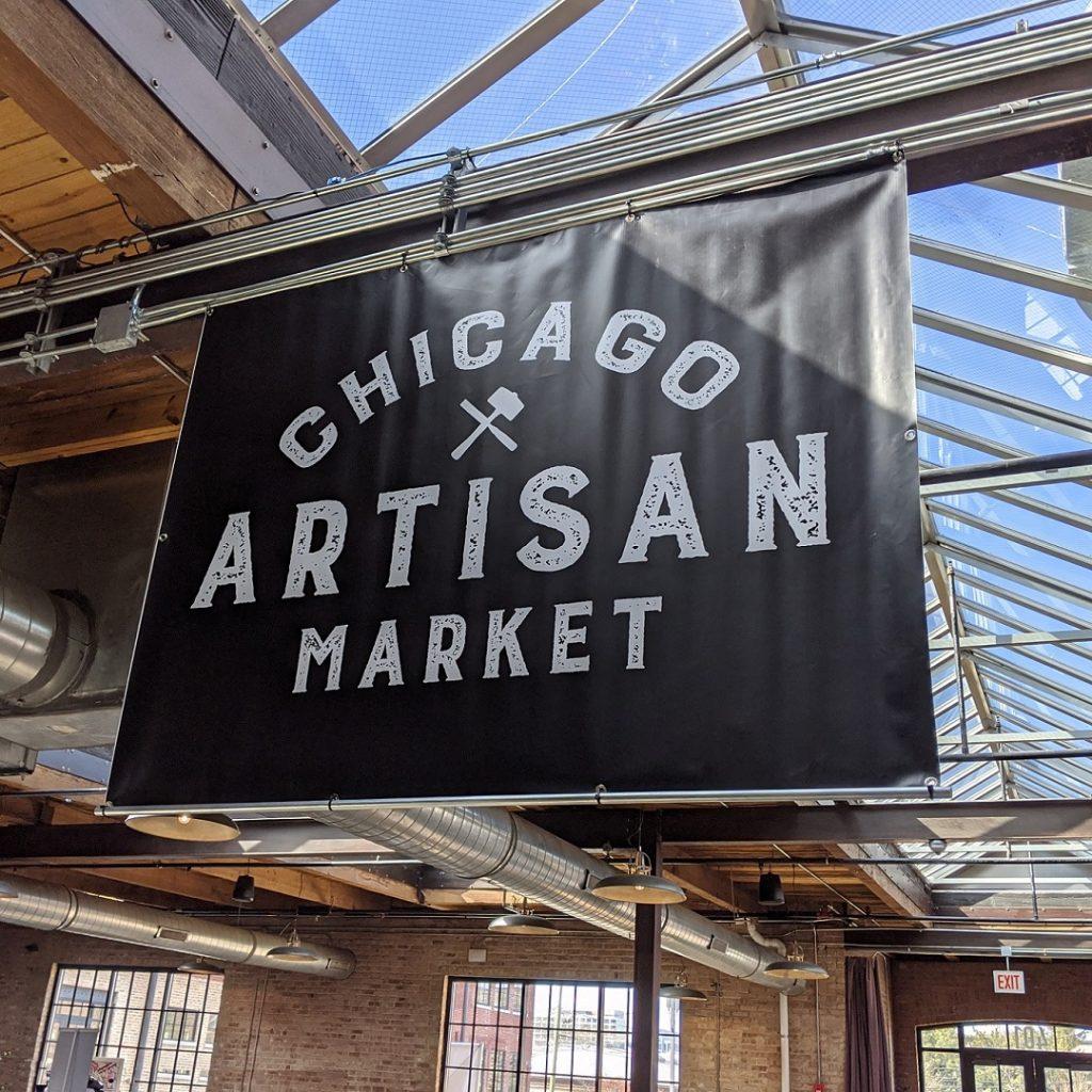 Chicago Artisan Market - Skylight Banner
