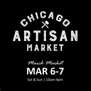 Chicago Artisan Market - March 6-7, 2021 (600 x 600)