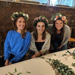 Make your own BOHO Flower Crown at Chicago Artisan Market