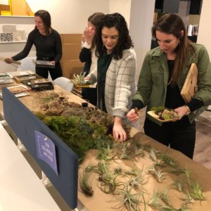 DIY Wreath Making Table - Chicago Artisan Market