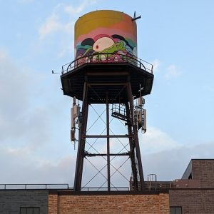 Historic Water Tank at Morgan MFG (Chicago Artisan Market)