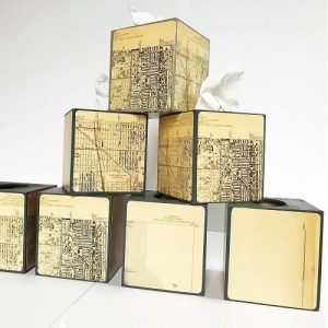 Redefined Map Design - Chicago Artisan Market (Tissue Boxes)
