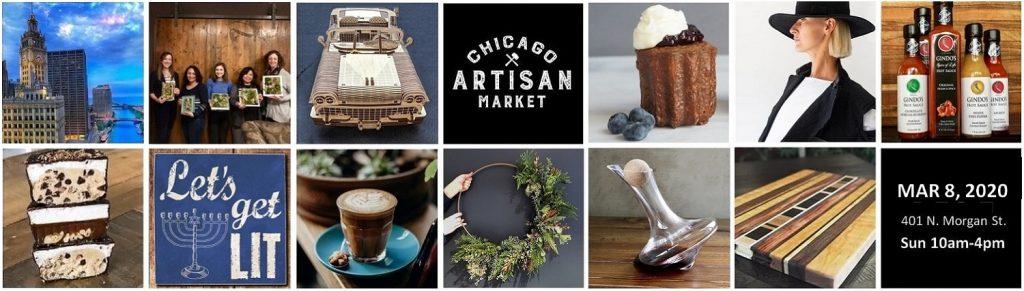 Chicago Artisan Market - March 8, 2020