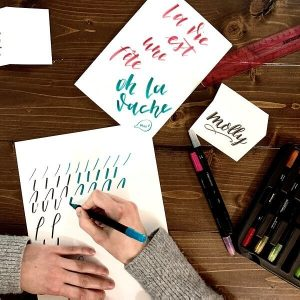 Hand Lettering Class - Chicago Artisan Market