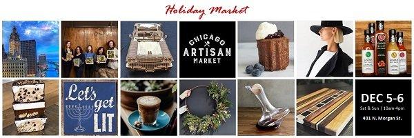 Chicago Artisan Market - Holiday Market (Dec 5-6, 2020)