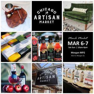 Chicago Artisan Market - March 6-7, 2021