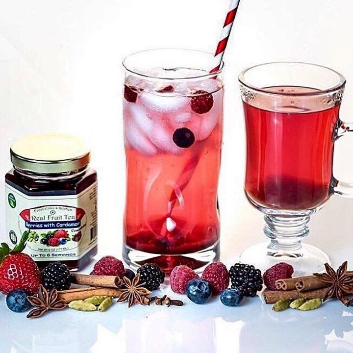 Real Fruit Tea (hot or cold) - Chicago Artisan Market
