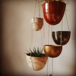 Loamly - Hanging Ceramic Plant Bowls - Chicago Artisan Market
