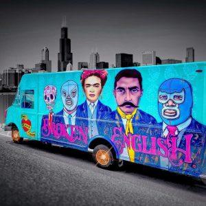 Broken English Taco Truck (Chicago Artisan Market)