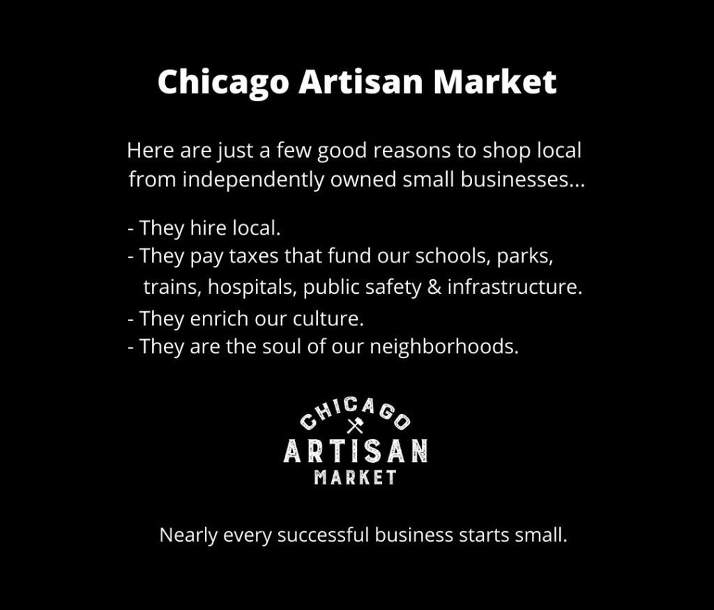 Chicago Artisan Market - Reasons to Shop Local
