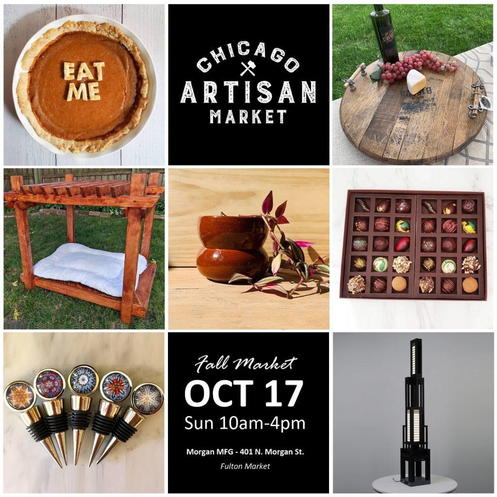 Get tickets to Chicago Artisan Market - Sun, Oct 17, 2021 at Morgan MFG